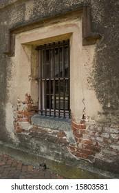 old jail window in charleston sc