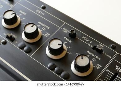a Old Japanese Analog Synthesizer