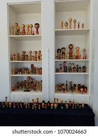 Old Japanese dolls
