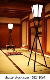 Old Japanese room in Okayama castle