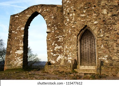 Old John door and arch, Bradgate park Leicester