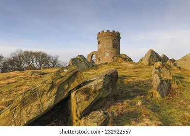 Old John in the early morning sun at Bradgate Park,Leicestershire, England.