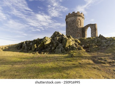 Old John is a folly at the top the highest hill in Bradgate Park, Leicestershire, England. It was built in 1784, by Thomas Sketchley of Anstey as a mock ruin.