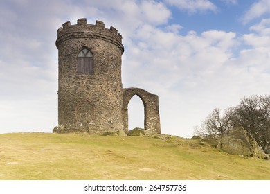 Old John stands at the top of the highest hill in Bradgate Park, Leicestershire, England.