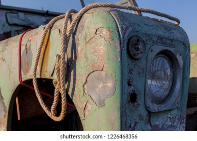 Old Junkyard Car.