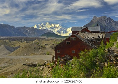 Old Kennecott copper Mine, Wrangell-St.Elias Elias National Park, Alaska, UNESCO World Heritage Site