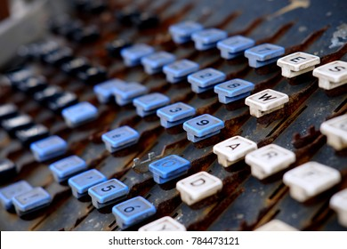 The Old Keyboard Layout
