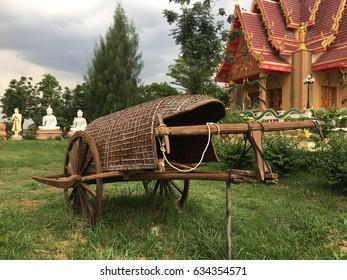 Old kind of Rickshaw