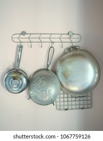 aluminum kitchen utensils. Interesting Aluminum Old Kitchen Tools Hanging On A Wall With Aluminum Kitchen Utensils E