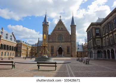 old knight hall Ridderzaal, the Hague, Netherlands