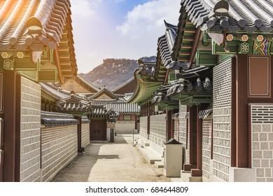 Old Korean architecture, Seoul South Korea