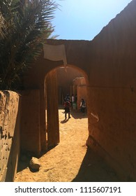Old Ksar of Beni Abbes, Bechar, Algeria.