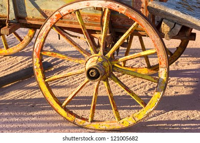 Parts of Old Wooden Wagon Images, Stock Photos & Vectors