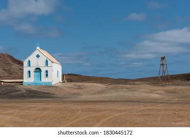 Old Lady of Compassion church  in Sal Island, Pedra de Lume, Cape Verde