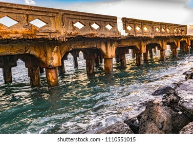 Old Lahaina Pier in Maui, Hawaii