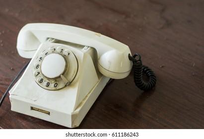 Old landline phone