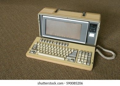 Old laptop computer