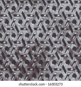 old lattice seamless texture