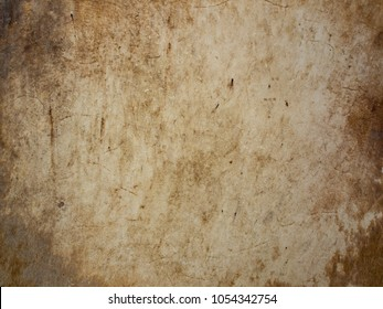 Old leather surface - leather texture of old drum as background
