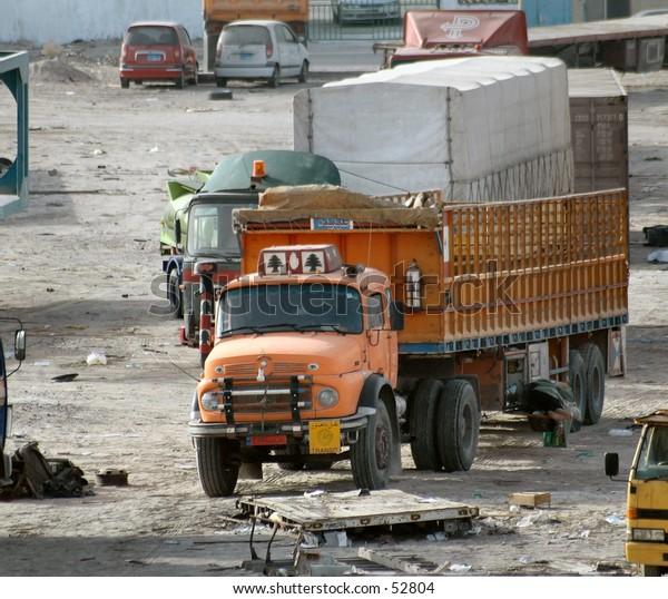 old lebanese truck
