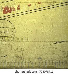 old letter paper background