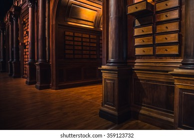 Old library and knowledge