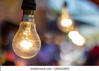 Old light bulb.