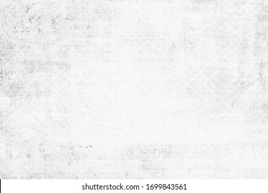 OLD LIGHT GREY GRAINY PAPER TEXTURE BACKGROUND, BLANK NEWSPAPER PATTERN, OBSOLETE BLACK AND WHITE DESIGN