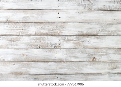 old light white wooden background