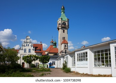 Old Lighthouse (1904) in Sopot town in Poland