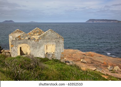 The old lighthouse keeper's house at King Point in Albany, Western Australia.
