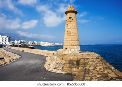 Old lighthouse in Kyrenia (Girne), North Cyprus