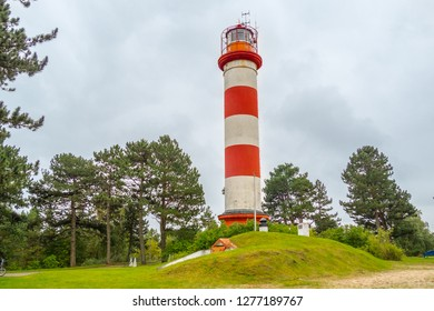 Old lighthouse in Lithuanian Nida.