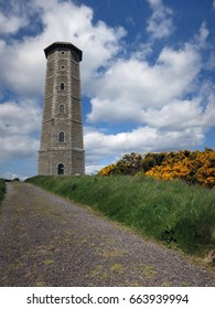 Old lighthouse in Wicklow, Ireland