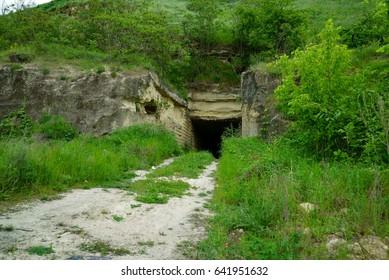 An old limestone mine.