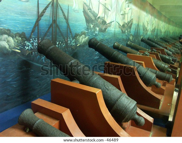 Old Little Cannons