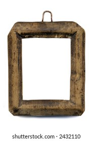 old little frame for a photo, from the whole piece of wood