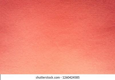 Old Living Coral Color Colour Paper Vintage Texture Background For Artwork.
