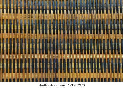 Old local mat  texturing, multicolored