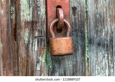 old lock witch latch
