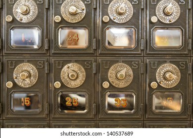 old locking mechanisms for PO Boxes