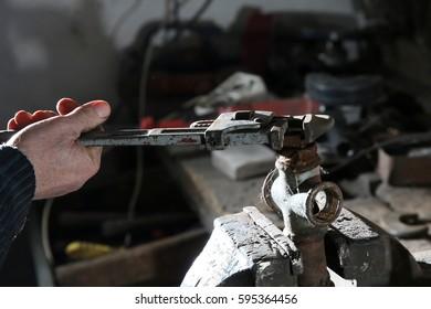 Old locksmith repairs