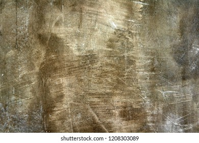 old loft or cement and concrete brown wall or floor crack and dark ground or table for modern interior or vintage exterior decor with texture background and wallpaper retro style at home or resort