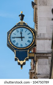An old London street clock, London, UK