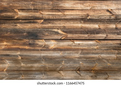 Old, long  planks. Texture of wood.