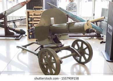 Mounted Machine Gun Images, Stock Photos & Vectors