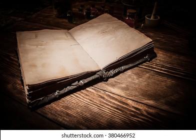 old magic book