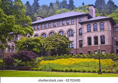 Old Main Hall at Western Washington University at Bellingham