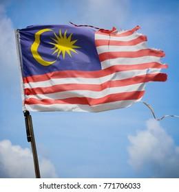 Old Malaysian Flag