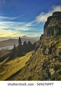 Old Man on Skye in the Morning
